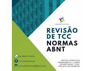 Revisão de TCC e normas ABNT