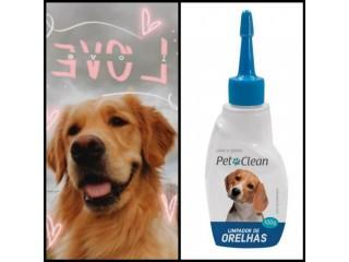 Limpador De Ouvido Pet Para Caes Cachorro E Gatos 100g