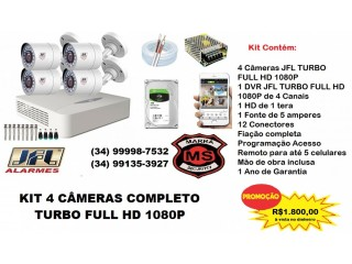 CFTV  Completo Turbo Full HD 1080P