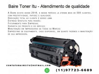 Toner compatível para sua impressora é na Baire Toners Itu