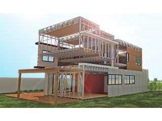 Projetos, ampliações, telhados e construção em aço ( sistema construtivo Steel frame).