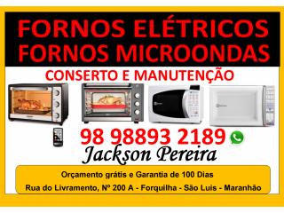Microondas manutenção - Jackson Pereira