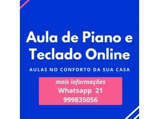 Aula Piano Teclado Copacabana Rio de Janeiro