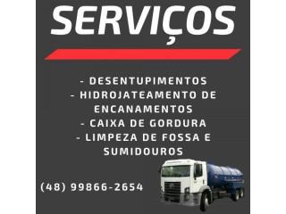 Desentupidora em Florianópolis (48)99866-2654