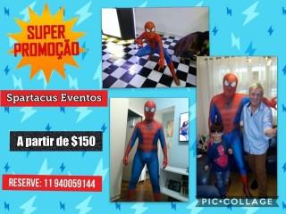 Homem Aranha para a festa do seu Filho!