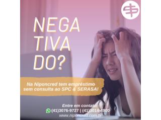 Empréstimo para NEGATIVADO sem consulta ao SPC E SERASA