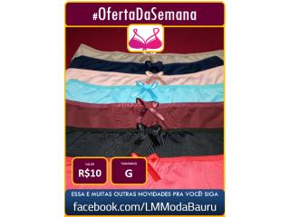 Lindas calcinhas plus do G ao G3 PREÇO ÚNICO R$ 10/cada