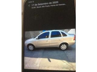 Vendo Corsa Sedan 2005 1.8 flex completo Top de Linha baixa quilometragem