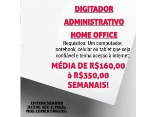 VAGAS PARA HOME OFFICE!!!