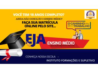 Supletivo EJA a Distancia em São Paulo