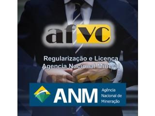 Licença Agencia Nacional Mineral