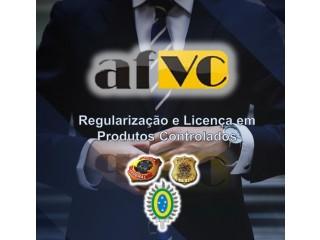 Licença com os produtos químicos controlados junto a Polícia Federal, Polícia Civil, Exército.