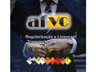 Licenças para o transporte rodoviário de produtos perigosos.