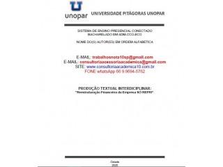 Reestruturação Financeira da Empresa SÓ REFRI. ADM CCO - ECO