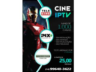 CINE IPTV - Canais Com Altíssima Qualidade, Sem Travamentos.