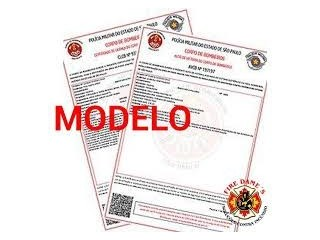 Laudo AVCB (Auto de Vistoria do Corpo de Bombeiros) ou CLCB (Certif icado de Licença do Corpo de Bombeiros)