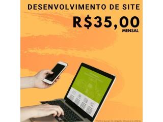 Desenvolvimento de Site por apenas R$35,00