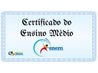 Diploma Ensino Fundamental e Médio à Distância - EJA