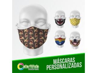 Máscaras, Canecas, Almofadas, Camisetas, Bodys Personalizados...