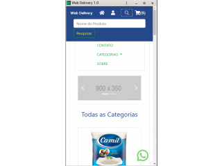 Web Delivery 1.0 - Sistema Para Delivery
