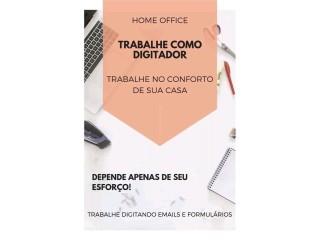 Digitador Online- Trabalhar como Digitador Autônomo - Home Office