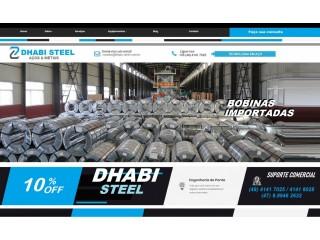 Temos Bobina Aluzinco - Dhabi Steel