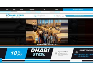 Dhabi Steel - Bobinas Aluzinco para Telhas, Concertinas, Calhas