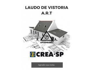 Serviços de Engenharia Civil - ART / LAUDO / AVCB