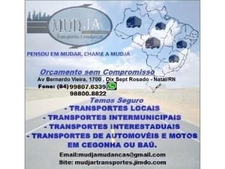Mude Já Fretes, Mudanças & Transportes