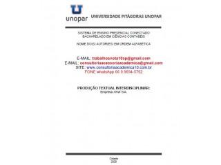 EMPRESA XKW S/A Corrigido Conceito Nota Máxima (66) 9.9694-5762