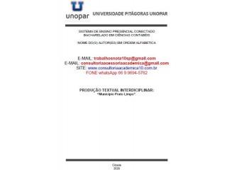 MUNICÍPIO PRATO LIMPO Conceito Nota Máxima (66) 9.9694-5762