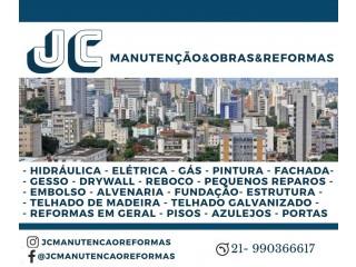 JC MANUTENÇÃO OBRAS E REFORMAS