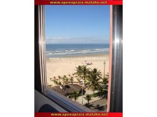 Kitnete-Temporada-R$ 80/Dia-Frente da praia-Pé na Areia-Guilhermina-Praia Grande-SP