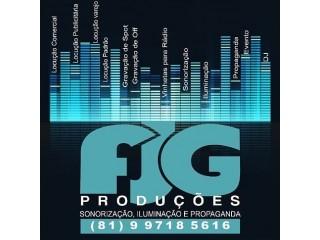 FJG Produções, comunicando você!
