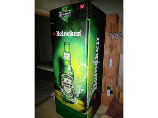 Freezer da Haineken conservado