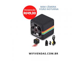 Mini Câmera HD com Visão Noturna
