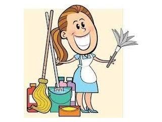 Faxina, limpeza simples