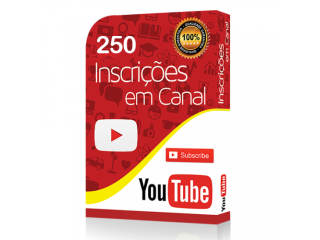 +250 Inscritos Youtube