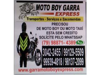 Moto boy garra express
