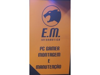 Pc Gamer - Dual Core I3 9100F- Entregamos montado em até 2 horas