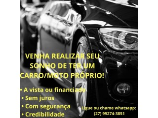 VENHA COMPRAR OU FINANCIAR SEU CARRO