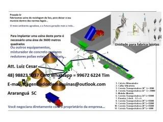 Máquinas e equipamentos para cerâmica vermelha minas pedreiras..