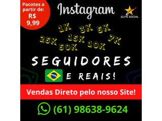 Seguidores para Instagram (1000) - Ativos - Reais e Brasileiros