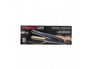 Prancha de Cabelo Kiss New York Ceramic Tourmaline Red Pro 261g