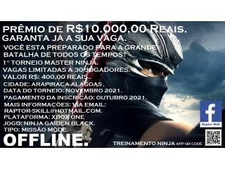 Torneio de Videogame - Ninja Gaiden Black - Xbox One
