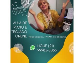 Professora de Piano e Teclado Rj
