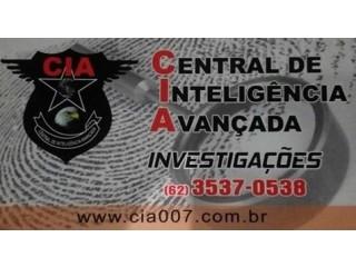 Detetive particular Goiânia CIA007 Fone 62 3537 0538