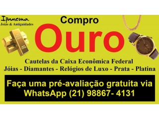 Compro Ouro em Todo Rio de Janeiro