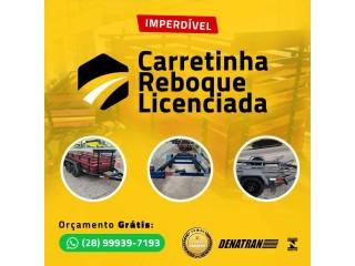 Carretinhas Veiculos Carretas Motos Reboque Frete Minas Gerais