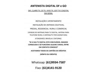 ANTENISTAS BRASÍLIA (61)999347587